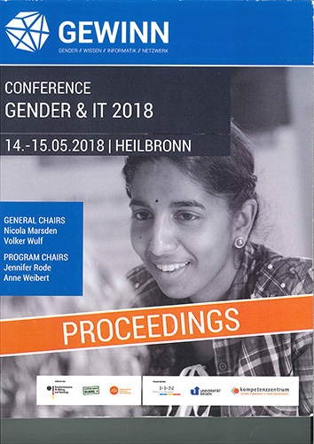 "Proceedings ""Gender & IT 2018"""